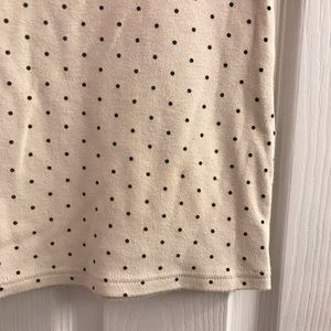 Karen Scott Tops - Karen Scott Polka Dot Shirt S